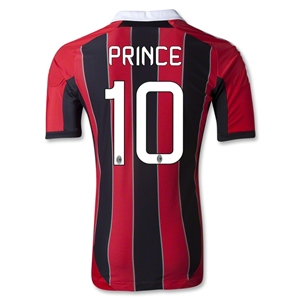 AC Milan 12/13 PRINCE Authentic Home Soccer Jersey