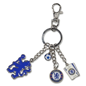 Chelsea King of Clubs Charm Keyring