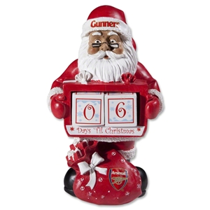 Arsenal Countdown Santa