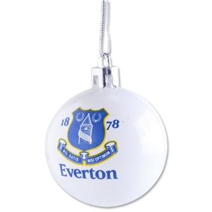 Everton Plastic Ball Ornament 4 Pack