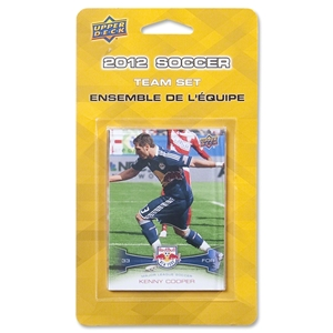 Red Bull New York 2012 Team Set Cards