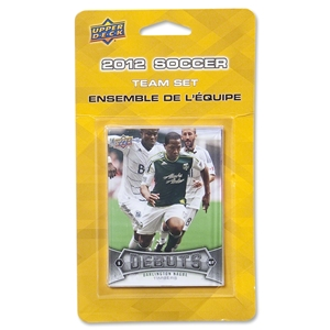 Portland Timbers 2012 Team Set Cards
