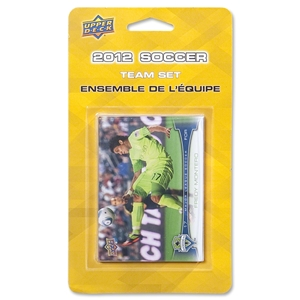 Seattle Sounders 2012 Team Set Cards