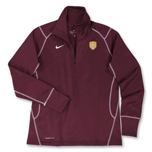 StandUp Nike Women's 1/4 Zip Thermal Top (Maroon)