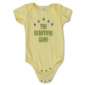 The Beautiful Game Infant Bodysuit (Yellow)