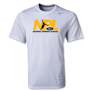 US Club Soccer NPL Poly T-Shirt (White)