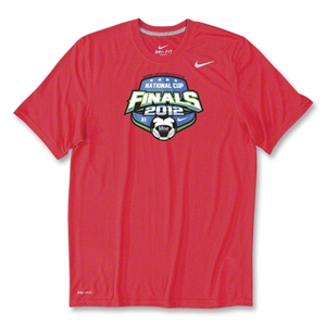 US Club Soccer Final Poly Top (Red)