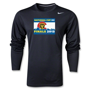 National Cup Finals 2013 LS Poly Top (Black)