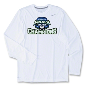 US Club Soccer Champions LS Poly Top (White)
