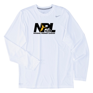USCS National Premier League LS Legend T-Shirt (White)
