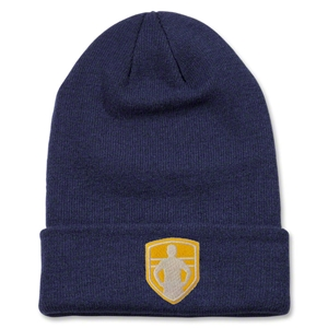 StandUp Nike Stock Cuffed Knit Beanie (Navy)