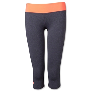 Under Armour Women's Sonic Capri (Slv/Or)
