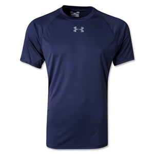 Under Armour HeatGear Flyweight T-Shirt (Navy)