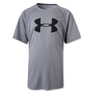 Under Armour Youth Big Logo T-Shirt (Gray)