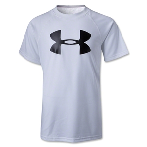 Under Armour Youth Big Logo T-Shirt (White)