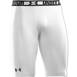 Under Armour HeatGear Sonic Compression Short Long (White)