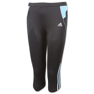 adidas Reponse DS 3/4 Tight Women's Pants (Black/Blue)