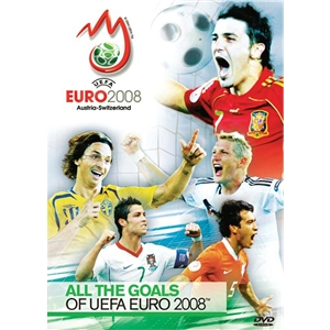 Euro 2008 All the Goals DVD