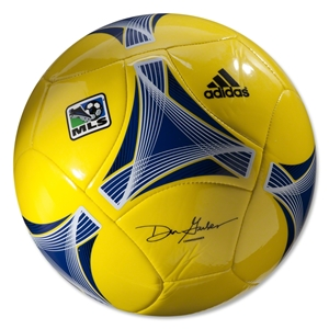 adidas MLS 2013 Glider Soccer Ball (Vivid Yellow/Royal)