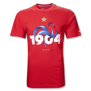 France 11/12 Core Soccer T-Shirt (Red)