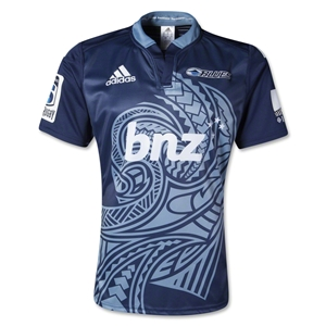 Blues 2014 Home SS Rugby Jersey
