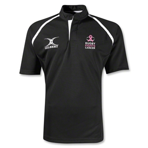 Rugby Fights Cancer Gilbert Xact Rugby Jersey (Black)