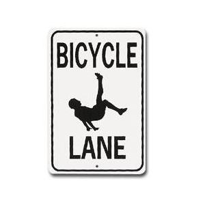 Bicycle Lane Street Sign