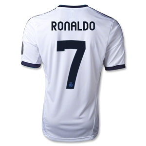 Real Madrid 12/13 RONALDO UCL Home Soccer Jersey