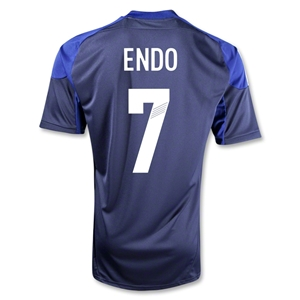 Japan 12/13 ENDO Home Soccer Jersey