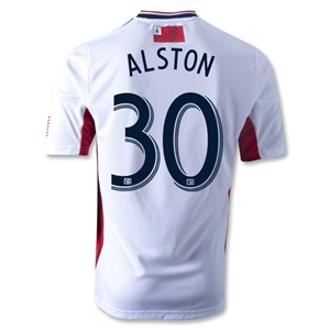 New England Revolution 2013 ALSTON Authentic Secondary Soccer Jersey