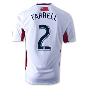 New England Revolution 2013 FARRELL Authentic Secondary Soccer Jersey