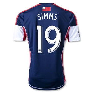 New England Revolution 2013 SIMMS Primary Soccer Jersey