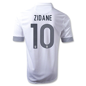 France 12/13 ZIDANE Away Soccer Jersey