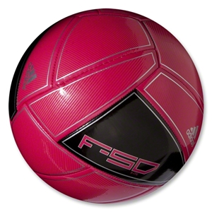 adidas F50 X-ite 12 Ball (Bright Pink/Black/Metallic Silver)