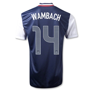 USA 12/13 WAMBACH Away Soccer Jersey