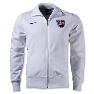 USA 12/13 Core N98 Jacket (White/Navy)
