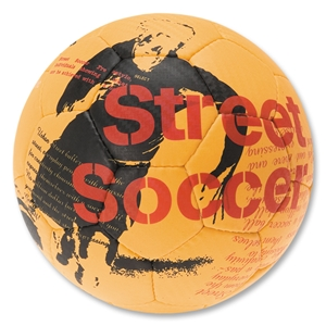 Select Street Soccer Ball (Orange/Black)