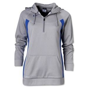 Nike Women's Core Fleece 1/4 Zip (Sv/Ro)