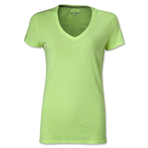 Under Armour Women's Charged Cotton Undeniable T-Shirt (Neon Green)