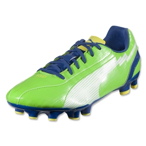 PUMA evoSPEED 5 FG (Jasmine Green/White/Monaco Blue/Fluo Yellow)
