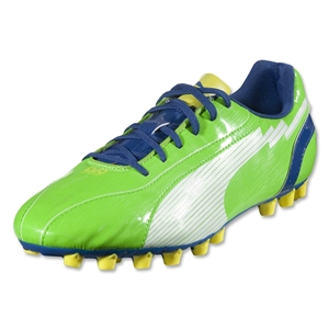 PUMA evoSPEED 5 AG (Jasmine Green/White/Monaco Blue/Fluo Yellow)