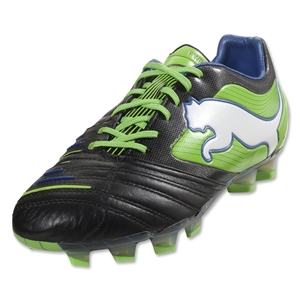 PUMA PowerCat 1.12 SL FG (Black/Jasmine Green/Monaco Blue)