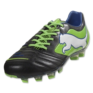 PUMA PowerCat 1.12 FG (Black/Jasmine Green/Monaco Blue)