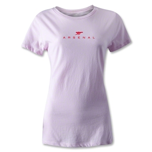 Arsenal Printed Women's T-Shirt (Pink)