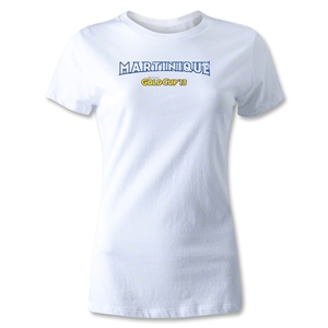 CONCACAF Gold Cup 2013 Women's Martinique T-Shirt (White)