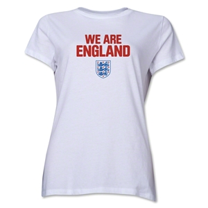 England We Are Women's T-Shirt (White)