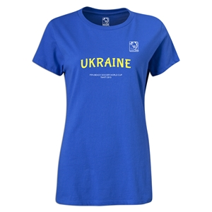 FIFA Beach World Cup 2013 Ukraine Women's T-Shrit (Royal Blue)