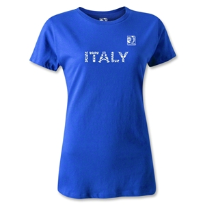 FIFA Confederations Cup 2013 Women's Italy T-Shirt (Royal)