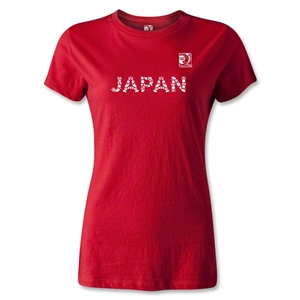 FIFA Confederations Cup 2013 Women's Japan T-Shirt (Red)