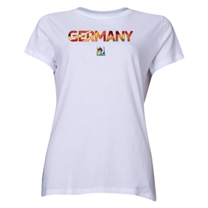Germany FIFA U-20 Women's World Cup Canada 2014 Women's Core T-Shirt (White)